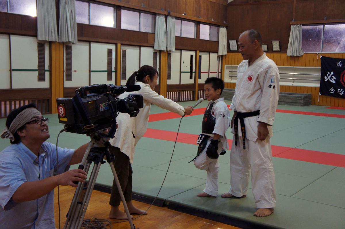 「EBCスーパーニュース」スポーツ愛媛 日本拳法 県勢初 チャンピオン誕生